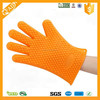 Amazon Hot Selling Kitchen Silicon Glove BBQ Silicon Grill Glove With Five Fingers