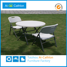 2014 hot sale plastic table, plastic folding chair, plastic tables and chairs in china