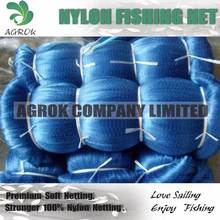 Africa Blue Soft Monofilament Nylon Fising Net High Quality Strong knotted