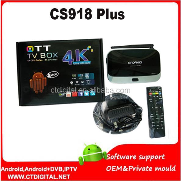 Cs918 android tv box user manual