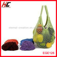 Organic cotton string net bag