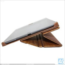 New high quality hot products popular three folding design for ipad 5 bamboo case