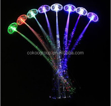 Flash Led Barrettes, Wholesales Led Clips, Muticolor Led Braid for Party/led hair clip