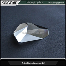 high quality various shape optical glasss glass prism factory