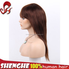 Top selling Peruvian 26 inch human hair lace front wig