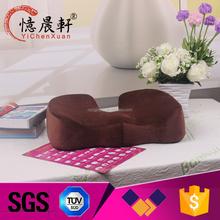 Supply all kinds of gel cushion seat,back cushion memory foam,memory foam lumbar cushion with fit elastic