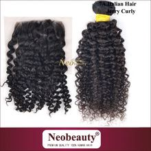 Neobeauty new year new style top quality remy italian body wave hair