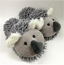 Lovely Indoor Plush Slippers Stuffed Koala Slipper Warm Winter Cartoon House Shoes