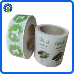 Popular Customized Label,Waterproof Packing Label,Adhesive Clear Label