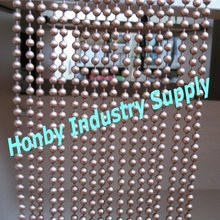 fashion trend for 6mm antique copper metal ball chain curtain