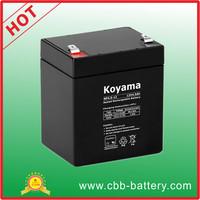 UPS battery 12V4.5AH Sealed Lead Acid Battery, AGM Storage UPS Battery