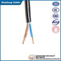 2.5mm CU/PVC insulation/PVC sheath RVV cable