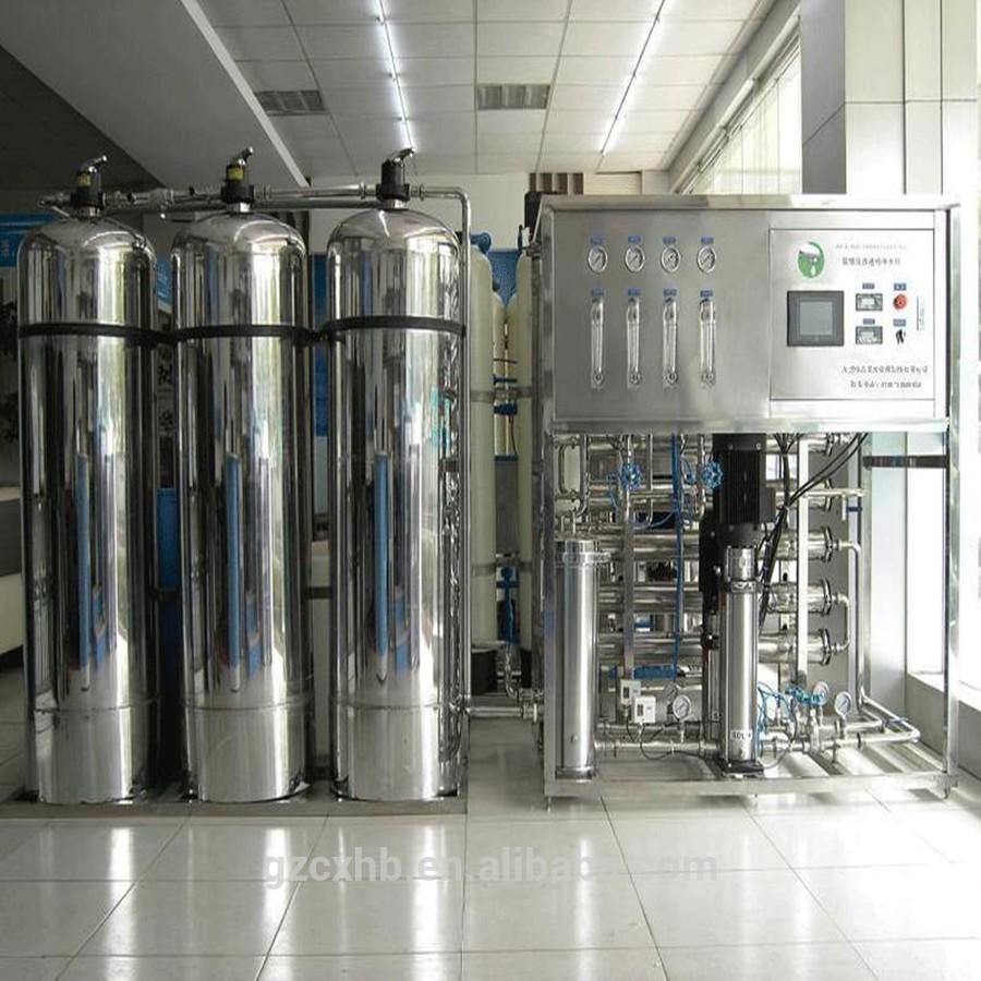 Sistema de tratamento de água 2000L / H de alta qualidade industrial / pure água que faz a máquina