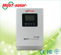 <Must solar> LED/LCD solar charge controller 60a 45a 30a 40a 20a mppt solar chargers