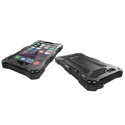 new products Aluminum Dual Layer Waterproof Protective case for iphone 6