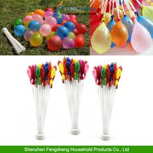 111 Quick Ammo Water Balloons Bombs Self Tying Garden Outdoor Party Summer Fun