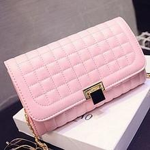 2015 High quality ladies shoulder handbag new product grid shoulder bags wholesale online shop SY6373
