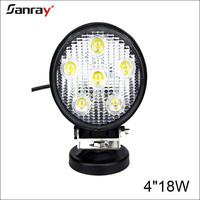 China factory wholesale for trucks 18w round spot/pencil led worklight