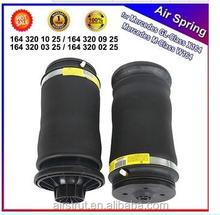 Air Spring for Mercedes W164 ML . 1663200325,1643200425, 1643200625 air suspension springs ride bags rubber