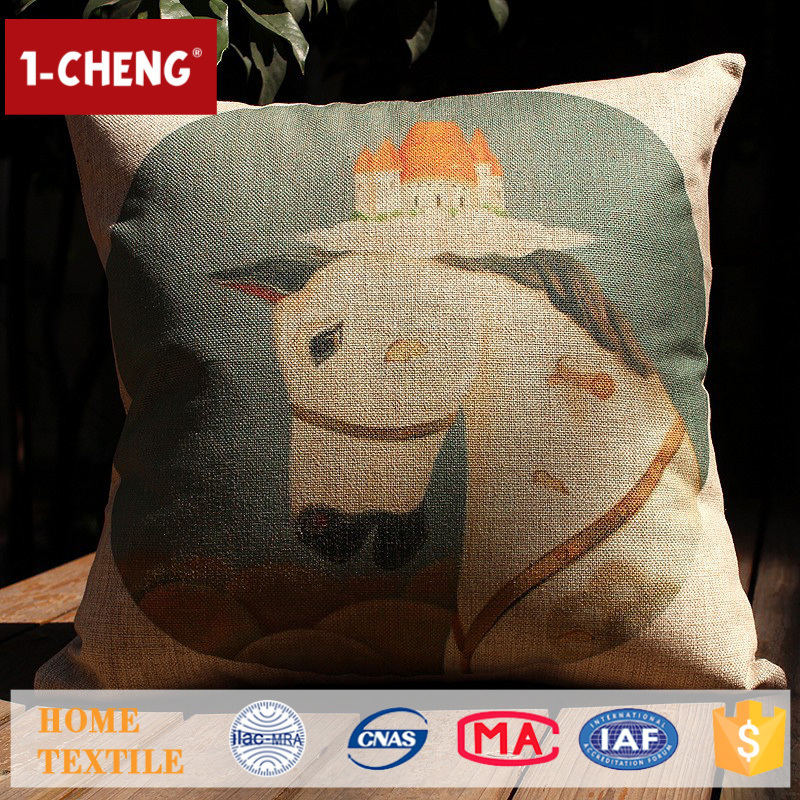 Throw Pillow Fight Viewing Guide Answers : Hot Sale Creative Vintage Horse Pattern Printing Design Cushion,Home Decor Pillow Case,Sofa ...