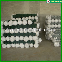 Plastic Covering Chain Link Fence/China chain link netting 1mx25m/2..5mm chain link fence factory