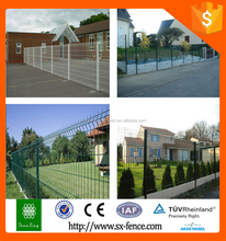 welded wire mesh fence for large field