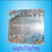 Caja de plástico pvc/ caja de regalo de acetato/ logo para embalaje personalizado