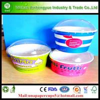 Frozen Yogurt with Dome Lids Various Size(4-26OZ)