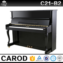 piano with durable pedal and brass pins mini wooden piano prices for sale