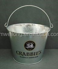 Small Ice Bucket/Antique Polishing Ice Bucket Family Gathering Party Drink Bucket