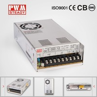 Switch Power Supply CE approved SMPS DC Output meanwell style metal box power supply