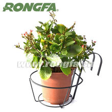 high quality metal wire hanging flower pot stand outdoor