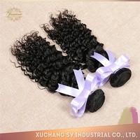 natural color deep wave human hair styles wholesale Brazilian human hair extension
