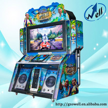 The Most Popular Coin Operated Indoor 55 Inch Touch Screen Arcade Video Game Machine