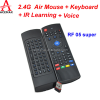 Acemax MX3 2.4g wireless keyboard&mouse remote controller special for Android smart tv box