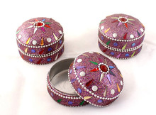 lac jewellery boxes wholesale cheap prices lac small boxes ,lac sindoor box in mirror & beads work