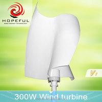 300w mini helix vertical axis wind turbine