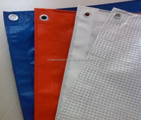 stripe pe tarpaulin rolls blue white, tarpaulin green 2x3