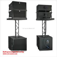 CVR Pro line array factory active powerful indoor line array speaker