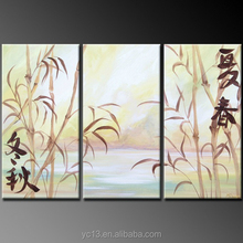 100%handmade beautiful flower group oil painting