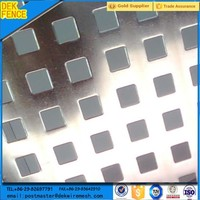 Square Hole Stainless Steel Perforated Sheet