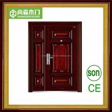 alibaba china entrance metal door with steel security door
