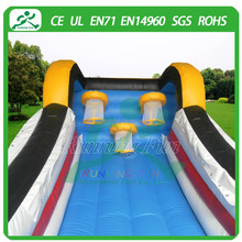 Hot quality inflatable bouncy basketball hoops, inflatable sports game