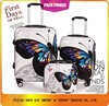 Butterfly print Travel Trolley Luggage Bag