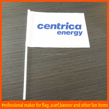 Party Top quality custom Large Handheld Flag for promotion