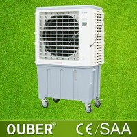 Floor standing evaporative air cooler home use water room cooler fan
