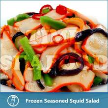 frozen seafood japan importer,salad with squid