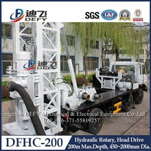 High Quality Hydraulic Truck Mounted Water Well Drilling Rig Machine DFHC-200