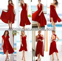 2015 Flirty Multi Way Wrap Convertible Infinity Swing Dress