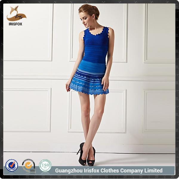 Bonita Vestido de <span class=keywords><strong>Azul</strong></span> para Moda Mujer con Precio Bajo de China